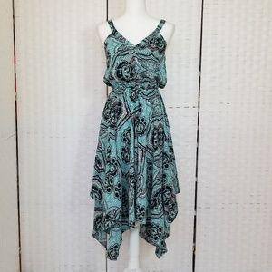 H&M Asymmetric sleeveless halter Dress